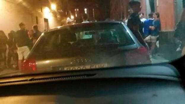 Aglomeraciones en Vegueta sin respetar las medidas de seguridad